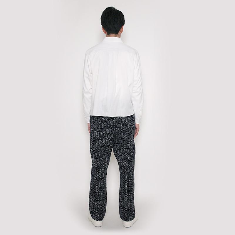 イージーパンツ [mizumari 水鞠] 全2色 M/L 綿100% 男女兼用