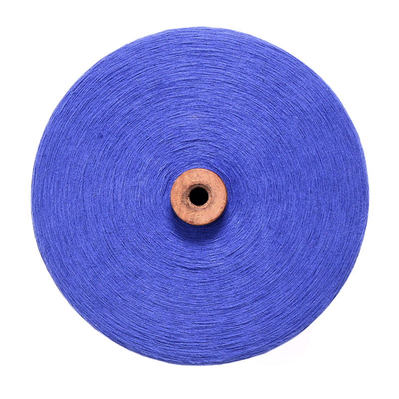 織り糸 [和木綿 花紺(はなこん)] 太巻 約900g程度 40/2