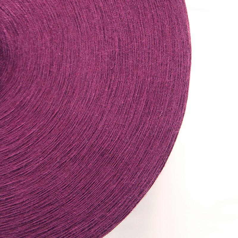 織り糸 [和木綿 パープル] 太巻 約900g程度 40/2