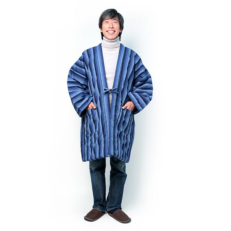 半纏 [藍調袢天] 全4色 3Lサイズ※TNCテレビ「華丸・大吉の なんしようと?」華丸さんご着用商品