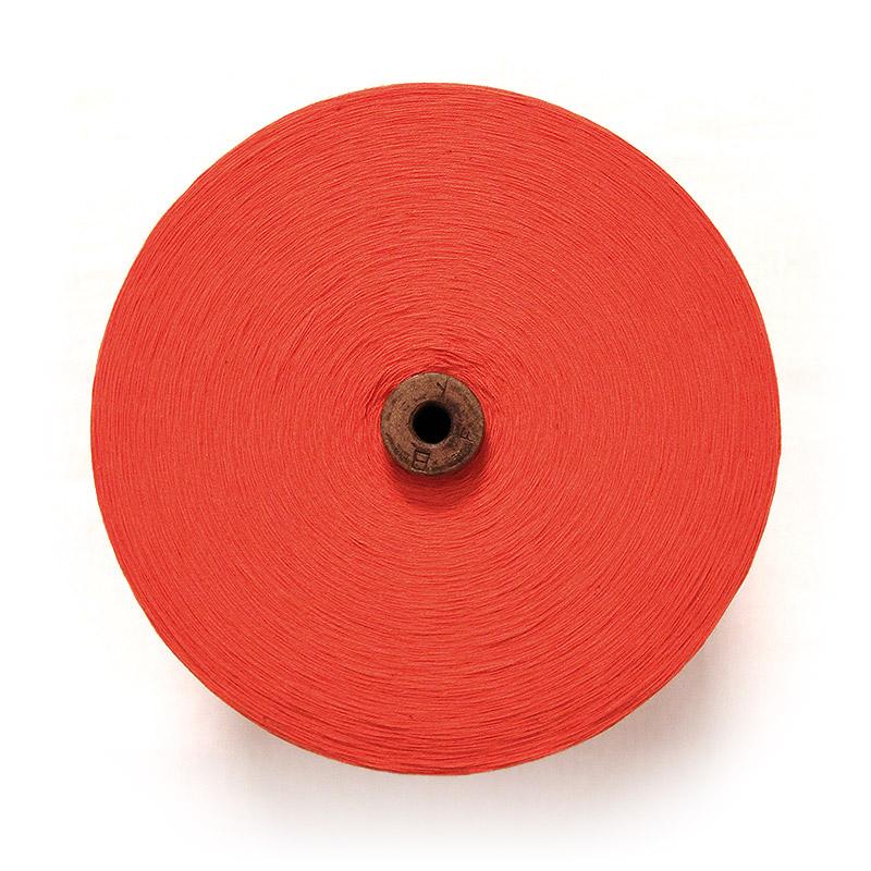 織り糸 [和木綿 オレンジ] 太巻 約900g程度 40/2