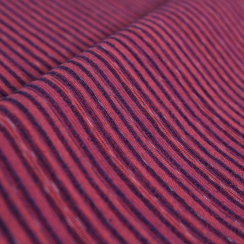 キャミソールワンピース [和木綿 飾りボタン付きジャンスカ] 寒茜 ピンク 綿100%