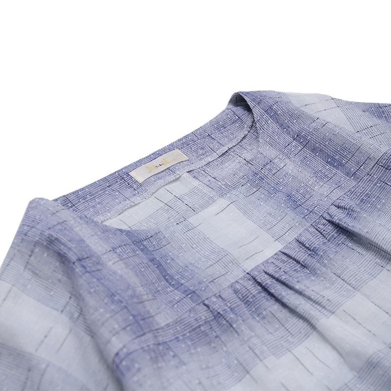 チュニック [彩藍 海鳥] 全3色 綿100%