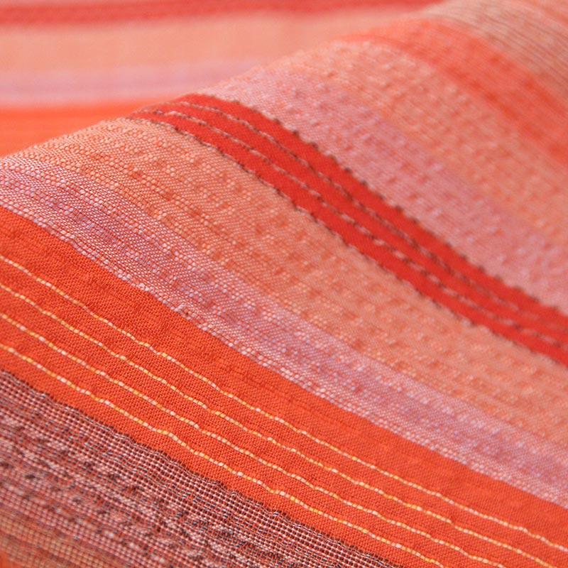 布 [和木綿 天の川] オレンジ 幅:約140cm×長さ:約120cm 数量限定販売