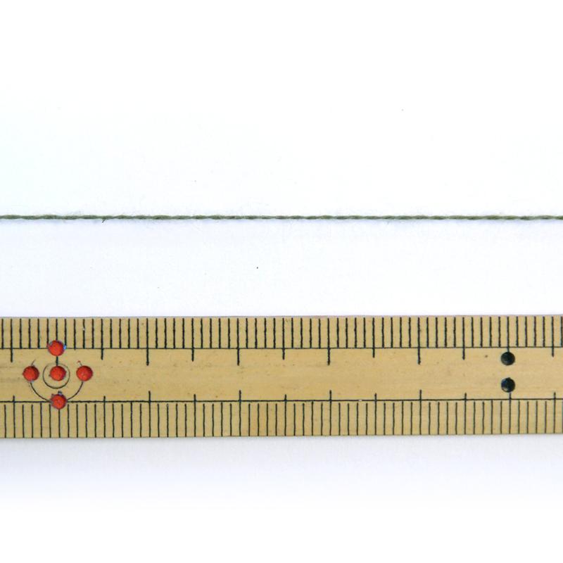 織り糸 [和木綿 モスグリーン] 太巻 約900g程度 20/2