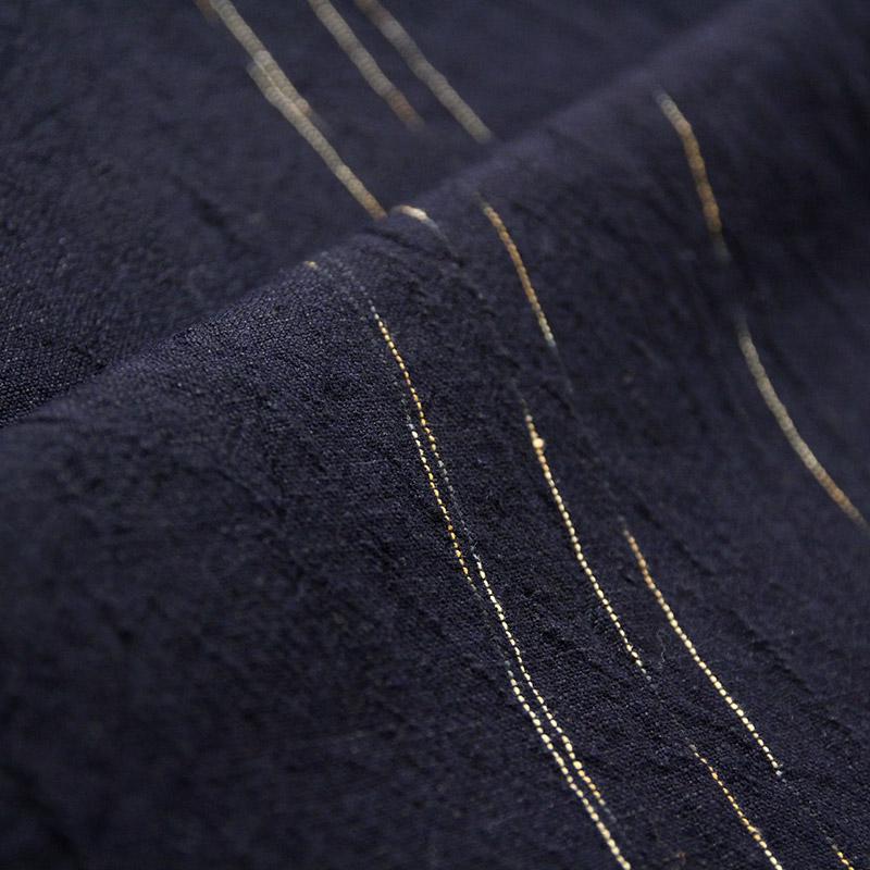 キャミソールワンピース [彩藍 蛍火] 全2色 綿80%・麻20%
