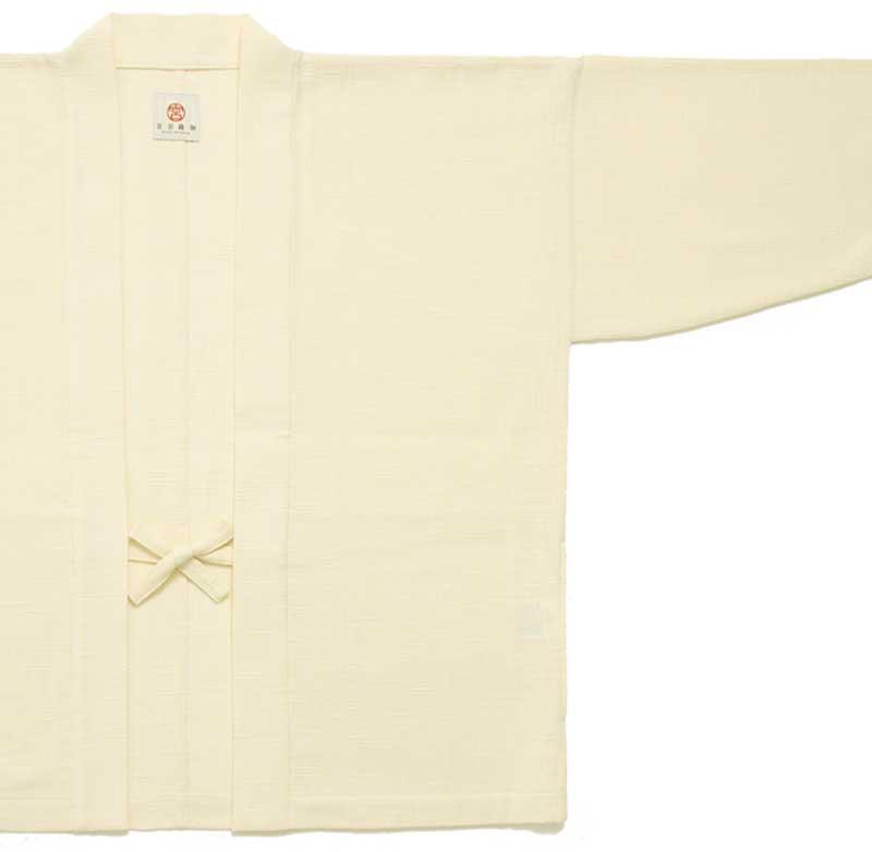 haori [soramame] ホワイト 通年向け 綿100%