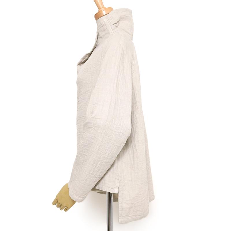 五感 トリプルガーゼ [ショート プルオーバー] 全2色 綿100% M~Lサイズ 長袖