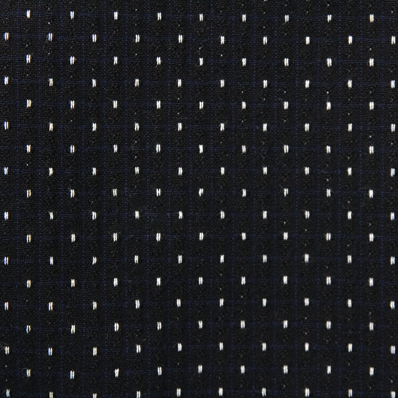 スモックエプロン [彩藍 切替えギャザー] 全2色 綿100%