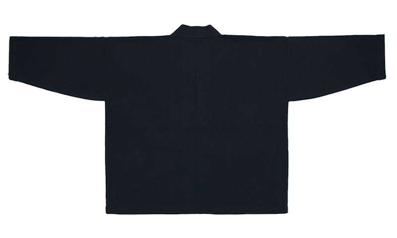 haori [chanoki] ブラック・グリーン 春秋冬向け 綿100% ※new size
