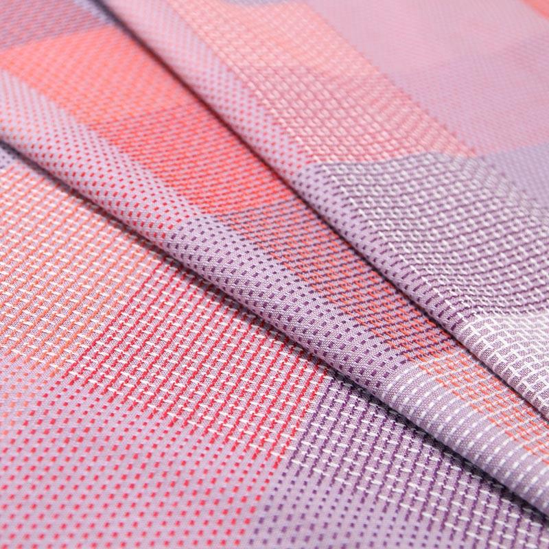 布 [和木綿 彩撫子] パープル 幅:約140cm×長さ:約120cm 数量限定販売