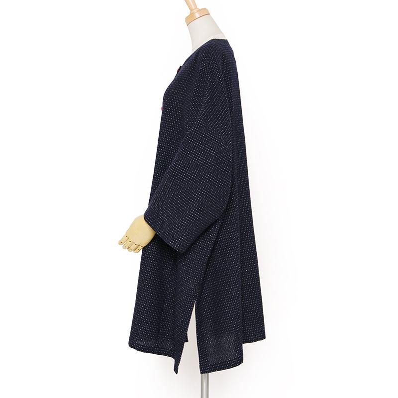 ジャケット [彩藍 文人調] 全2色 綿100%