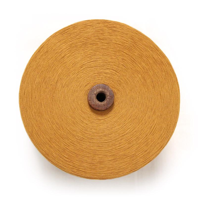 織り糸 [和木綿 カラシ] 太巻 約900g程度 40/2