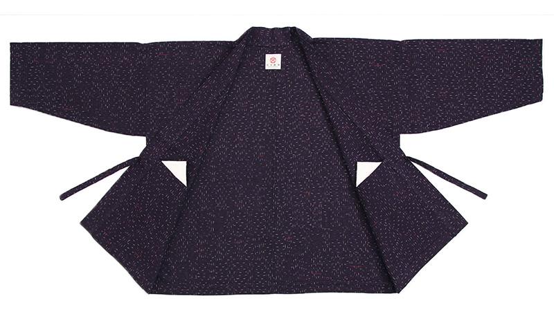 haori [hotaru] パープル 春夏秋向け 綿100%