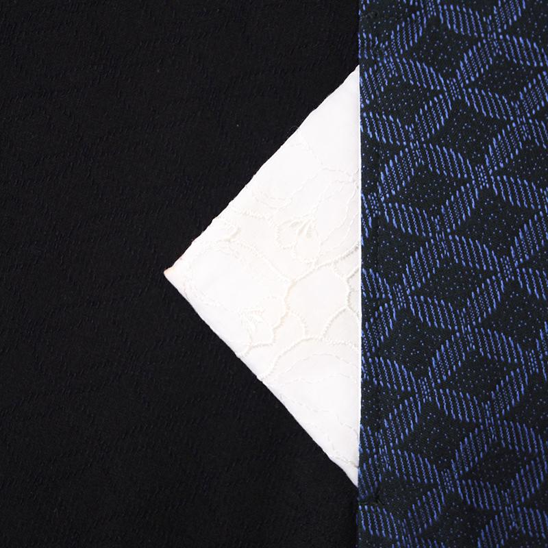 ジャケット [彩藍 狐火] 全3色 綿100% ※柄の出方は裁断位置により異なる場合がございます