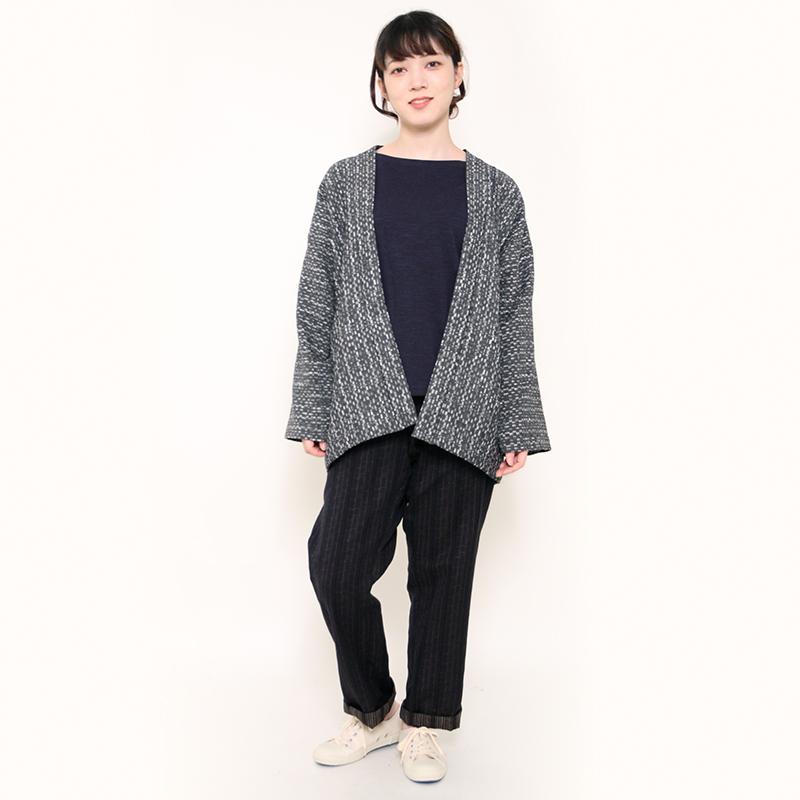 haori [mizumari] グレー 春秋冬向け 綿100% ※new size