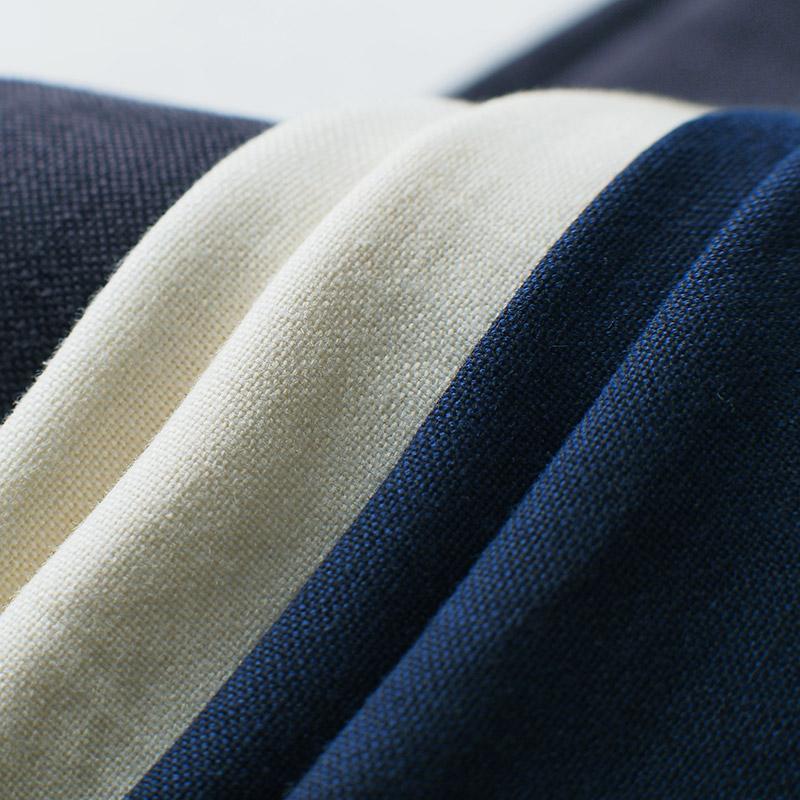 袖なし半纏 [山並みロングポンチョ] 全7色 ※2020新色入荷