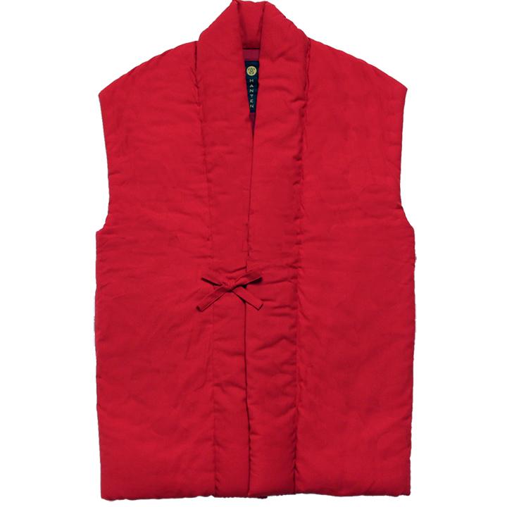 袖なし半纏 [山並みロングポンチョ] 全7色 ※2020新色入荷 赤/ピンク完売