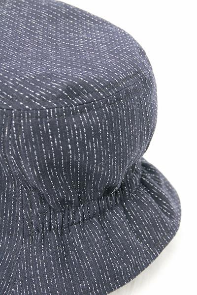 帽子 [彩藍 ゴム入りチューリップ] 全4色 綿100%