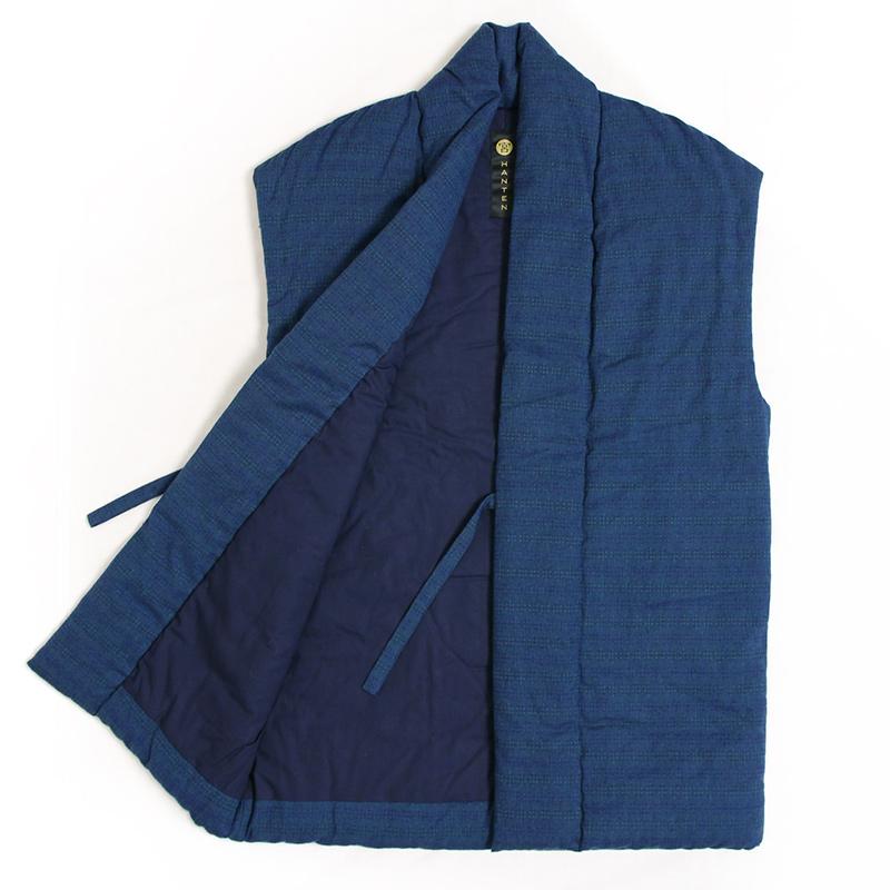 袖なし半纏 [泡雪ロングポンチョ] 全3色