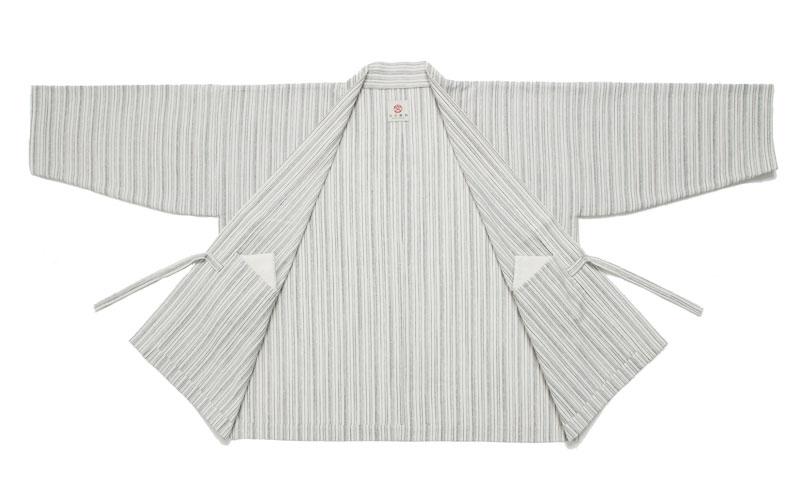 haori [fukinoto] ホワイト 春夏秋向け 綿100%