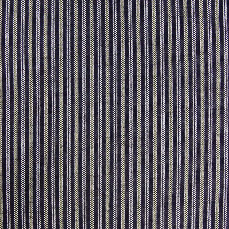 袖なし半纏 [60双糸 縞ポンチョ] 全4色