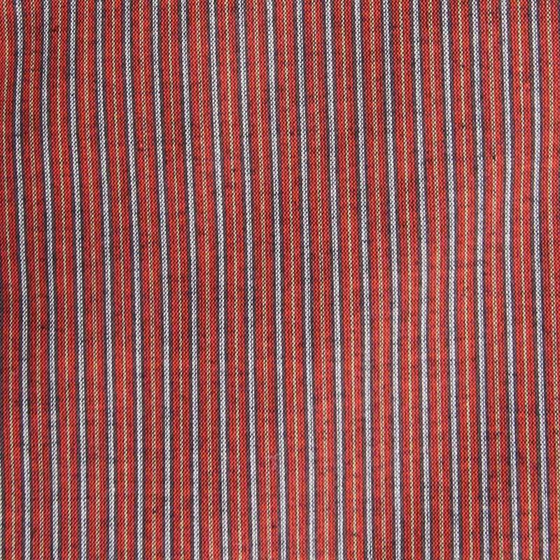 半袖半纏 [60双糸 縞やっこ] 全4色
