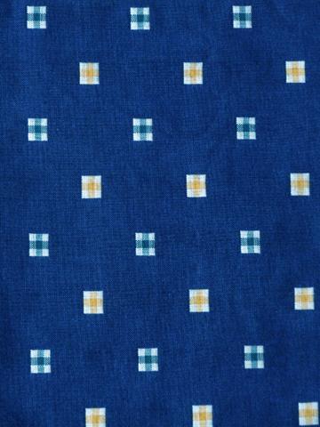 半袖半纏 [こどもやっこ] 綿カット柄 全2色 90~110cm