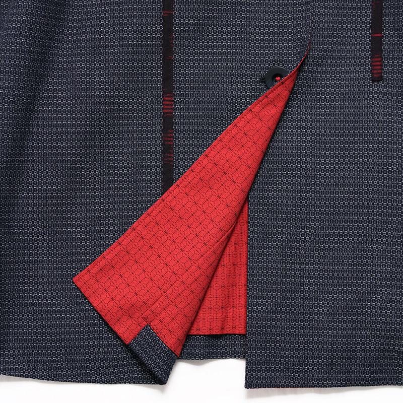 ジャケット [彩藍 新亀甲] 全2色 綿100%