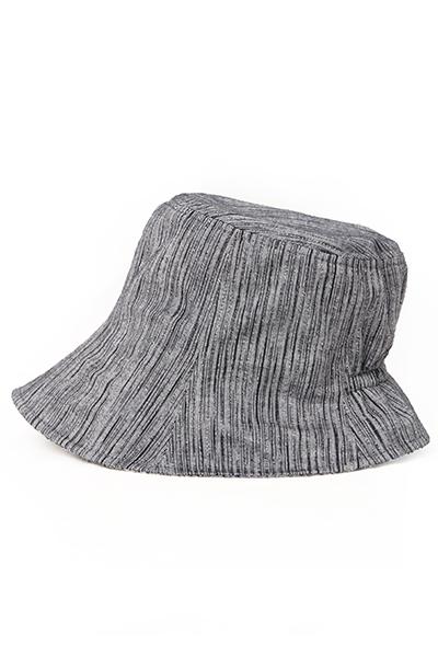 帽子 [彩藍 しじらゴム入り] 全6色 綿100%
