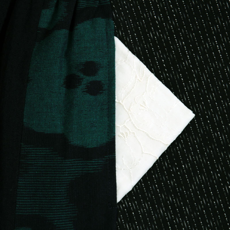 ブラウス [彩藍 文人ギャザー] 全2色 綿100%