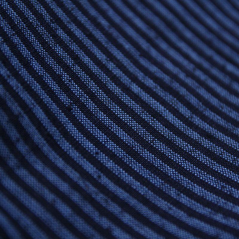 【新型】作務衣 [縞柄 パンツ両サイドポケット仕立て] 全4色 通年用 綿100% 女性用 ※大縞柄のみ販売中