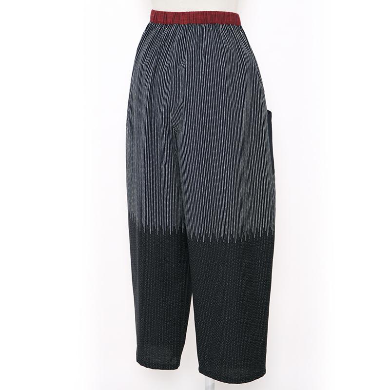 パンツ [彩藍 夜空] 黒のみ フリーサイズ 綿100%