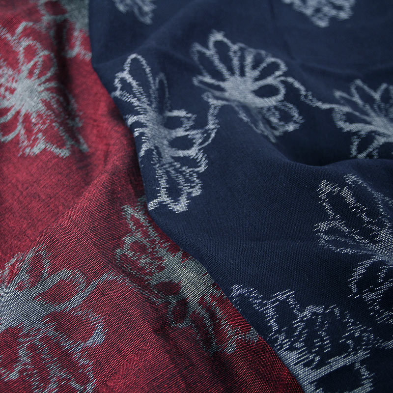 久留米絣ストール [彩藍 コスモス] 全2色 綿100%