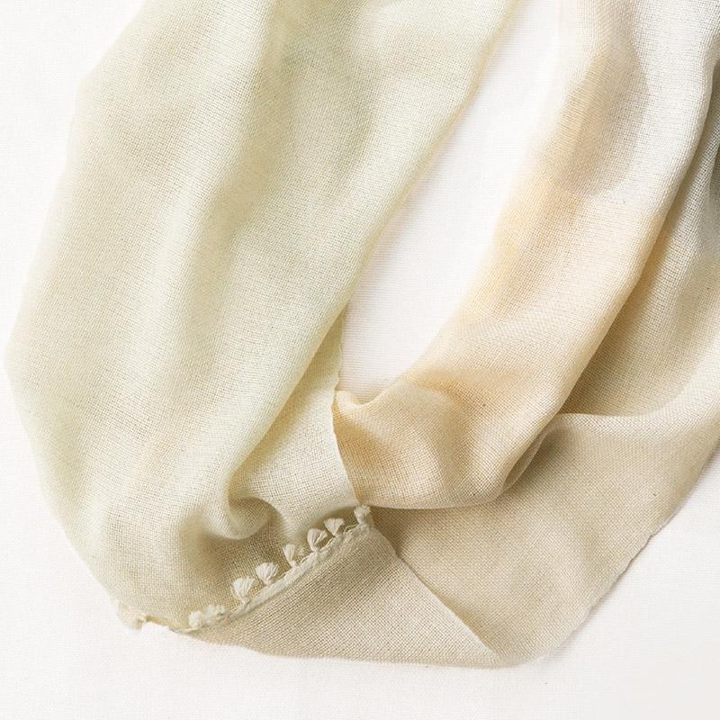 工房織座 [ボタニカルオーガニック ライトスヌード] 全4色 綿100%(ボタニカルダイオーガニックコットン)