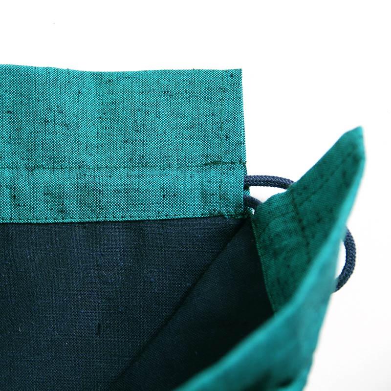 ポーチ [彩藍 パッチワーク] 全5色 綿100%