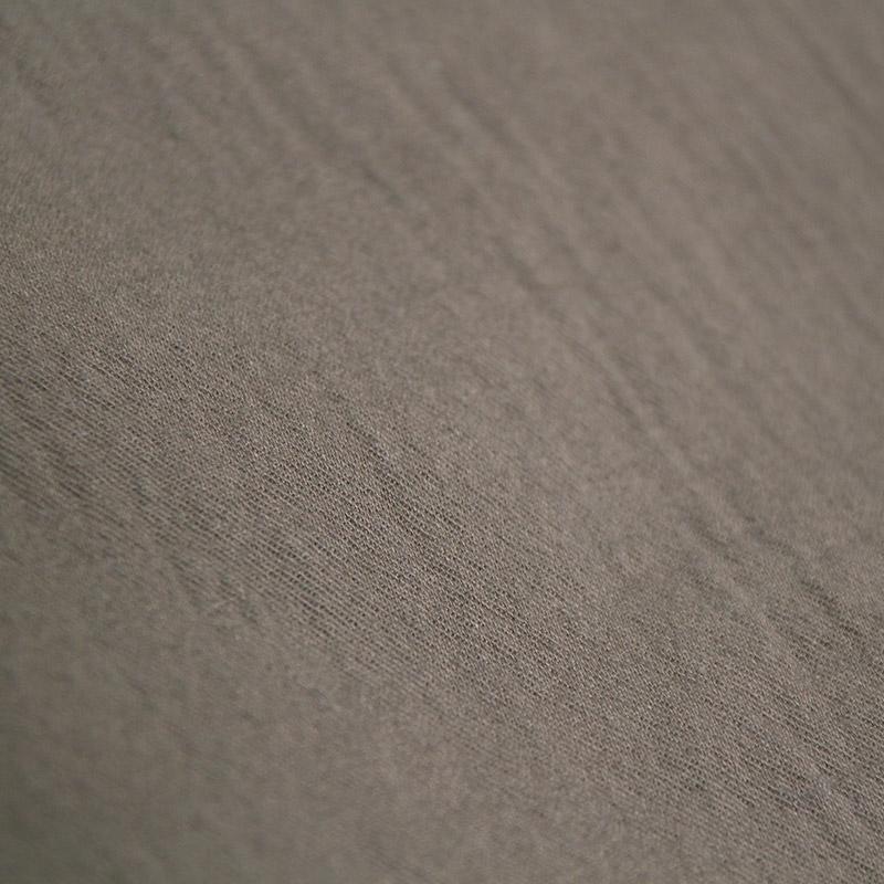 五感 ダブルガーゼ [ワイドパンツ 7分丈] 全4色 綿100% M~Lサイズ