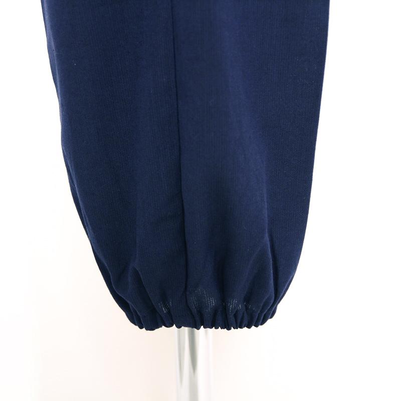 【新型】作務衣 [ちぢみ織り パンツ両サイドポケット仕立て] 全3色 夏用 綿100% 女性用 ※甚平と同素材