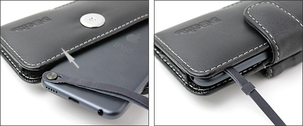 PDAIR レザーケース for iPod touch(7th gen./ 6th gen./5th gen.) ポーチタイプ