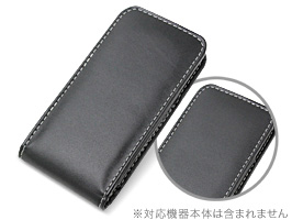 PDAIR レザーケース for iPod touchiPod touch(7th gen./ 6th gen./5th gen.) バーティカルポーチタイプ