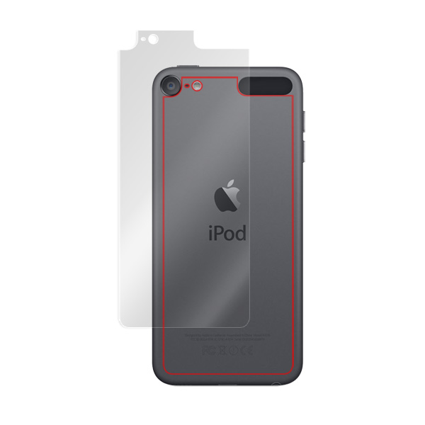 iPod touch 7  /  6 用 背面 裏面 保護 フィルム OverLay Brilliant for iPod touch(第7世代 / 第6世代) 背面用保護シート 背面 保護 フィルム 指紋がつきにくい 防指紋 高光沢