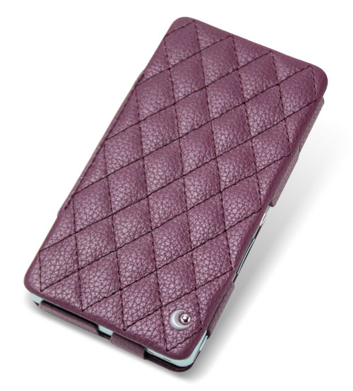 Noreve Ambition Couture Selection レザーケース for Xperia (TM) A SO-04E 卓上ホルダ(SO17)対応