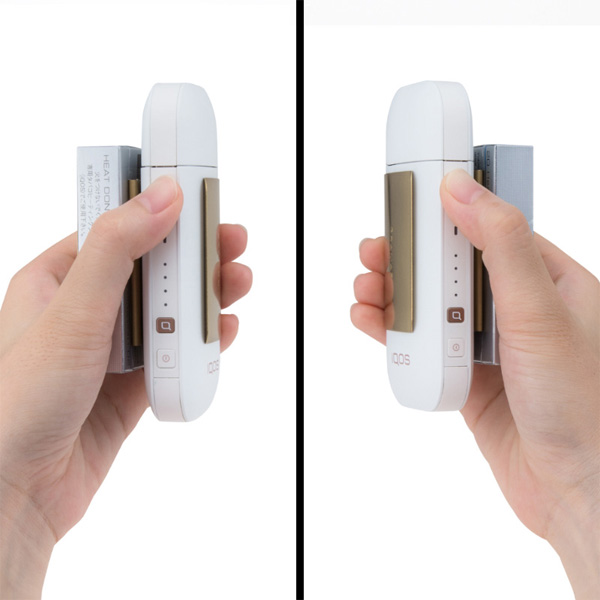 """GRAMAS """"CIG"""" Clip Stainless steel for IQOS"""