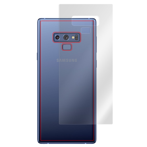 OverLay Plus for Galaxy Note 9 SC-01L / SCV40 背面用保護シート
