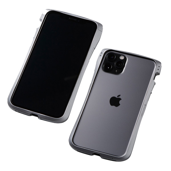 iPhone11 Pro アルミケース CLEAVE Aluminum Bumper for iPhone 11 Pro XS X DCB-IPCL19SAL Deff ディーフ アルミニウムバンパー アイフォーン11プロ