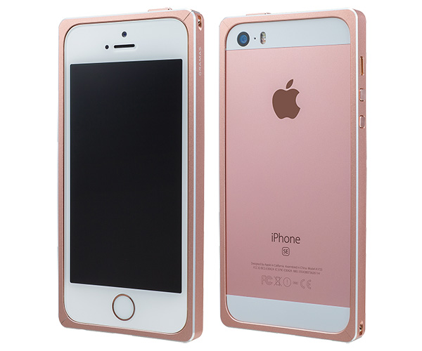 GRAMAS Straight Metal Bumper GMB506 for iPhone SE / 5s / 5