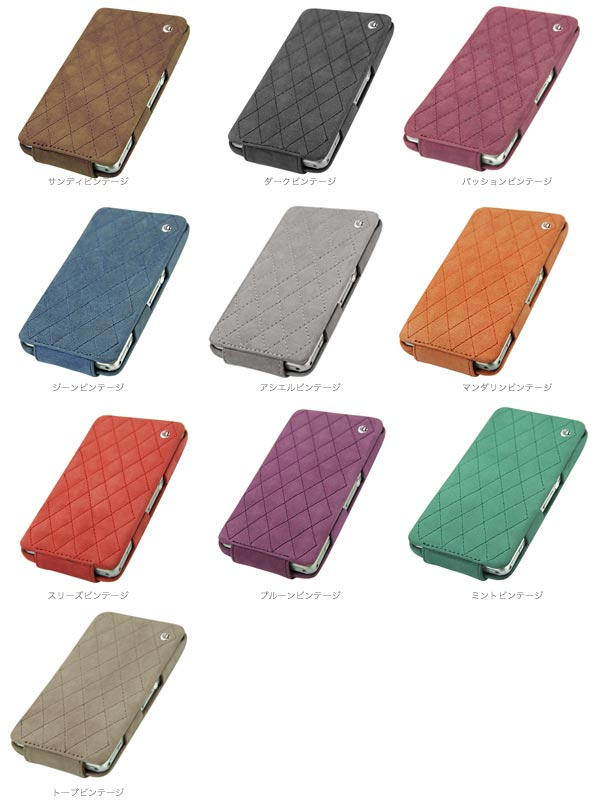 Noreve Exceptional Couture Selection レザーケース for Xperia (TM) Z1 f SO-02F