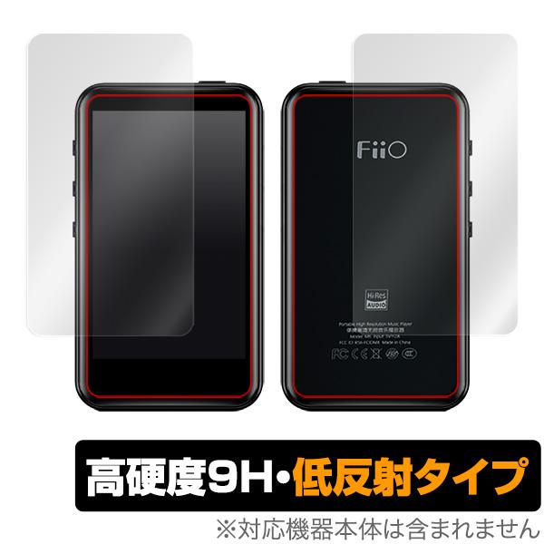 FiiO M6 用 保護 フィルム OverLay 9H Plus for FiiO M6 表面・背面セット 低反射 9H高硬度 蛍光灯や太陽光の映りこみを低減