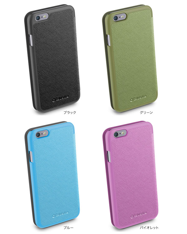 cellularline Book Color レザー 手帳型ケース for iPhone 6