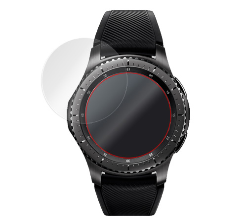 OverLay Brilliant for Galaxy Gear S3 frontier Golf edition / frontier / classic (2枚組)